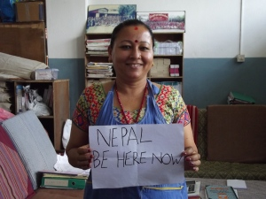 Surya, senior teacher at Wsdo Nepal, Pokhara