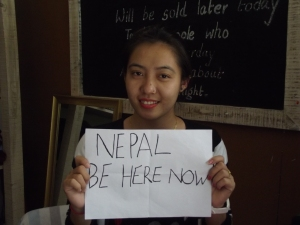 Sunita, shop assistant at Wsdo Nepal, Pokhara