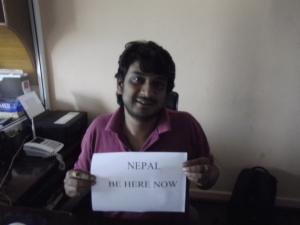 Rustam, managing director of the best travel agency in Nepal, ABC Adventures, Kathmandu